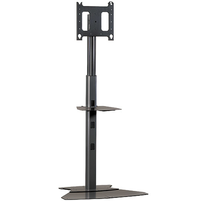 """Chief Medium Flat Panel Floor AV Stand, 32 - 65"""", 56.7 Kg max, Black TV standaard - Zwart"""