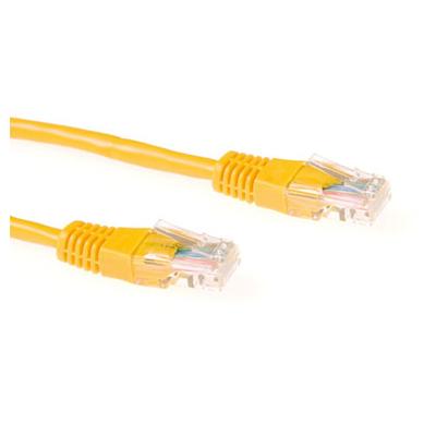 Ewent 1.0m Cat5e UTP Netwerkkabel - Geel
