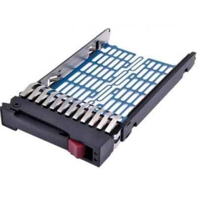 """Hp drive bay: Hard drive Tray 2.5"""", SAS SFF - Zwart, Blauw"""