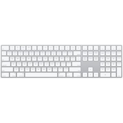 Apple Magic Keyboard met numeriek toetsenblok - Engels (VS) - QWERTY Toetsenbord - Wit
