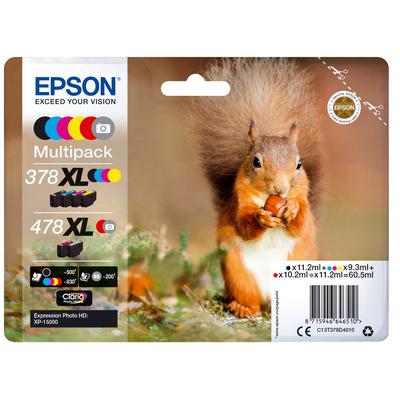 Epson C13T379D4020 inktcartridges