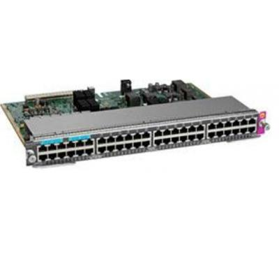 Cisco netwerkkaart: WS-X4748-12X48U+E - Grijs
