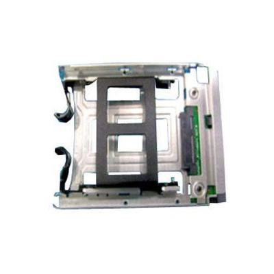 HP Hard drive carrier assembly Refurbished Drive bay - Zwart, Roestvrijstaal - Refurbished ZG