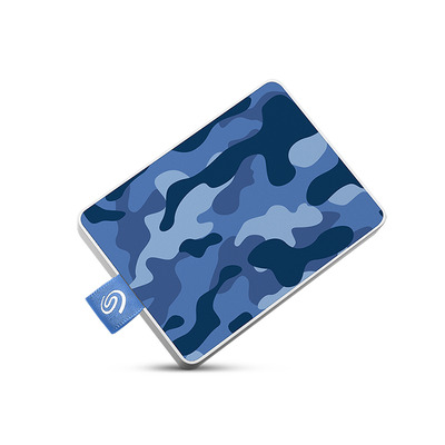 Seagate STJE500406 Externe harde schijf - Blauw, Camouflage