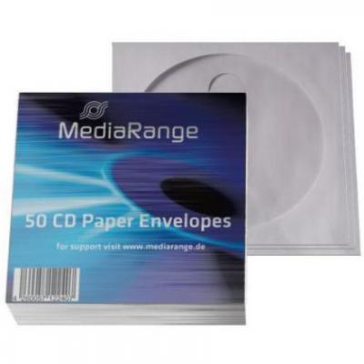 Mediarange : paper sleeve with flag window