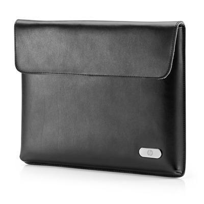 Hp tablet case: Lederen etui voor ElitePad - Zwart