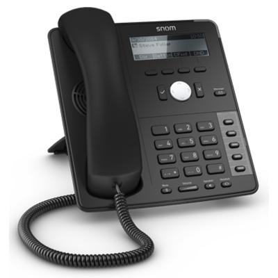 Snom D715 IP telefoon - Zwart