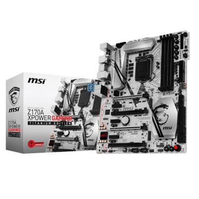 Msi moederbord: Z170a Xpower Gaming Titanium Edition