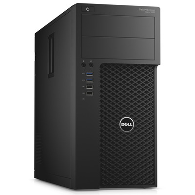 Dell pc: Precision T3620 - Zwart