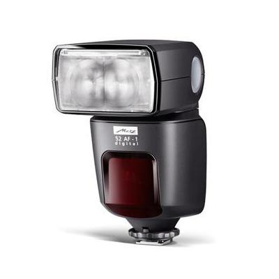 Metz camera flitser: mecablitz 52 AF-1 digital / Nikon - Zwart