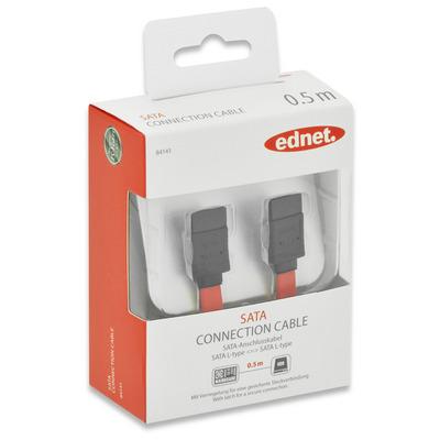 Ednet 84141 ATA kabel - Rood