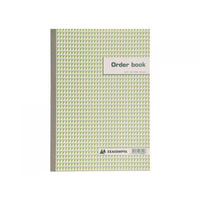 Exacompta register: ORDERBOEK 13,5X10,5 50B DUPL