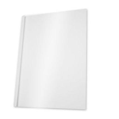 5star binding cover: Thermal binding covers, 3mm, white, 240gsm, pack of 100 - Transparant, Wit