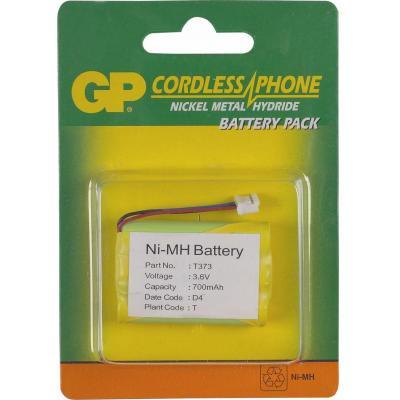 GP Batteries NiMH rechargeable batteries T373 - Groen, Geel