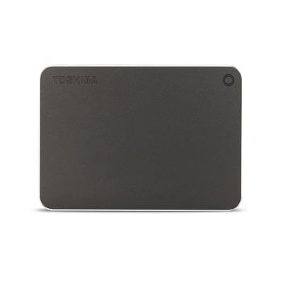 Toshiba Canvio Premium 2TB Externe harde schijf - Grijs