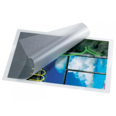 Staples laminatorhoes: Lamineerhoes SPLS 216x303 2x75micr/pk100