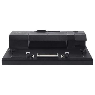 Dell docking station: E-Port Replicator with USB 3.0 - Zwart
