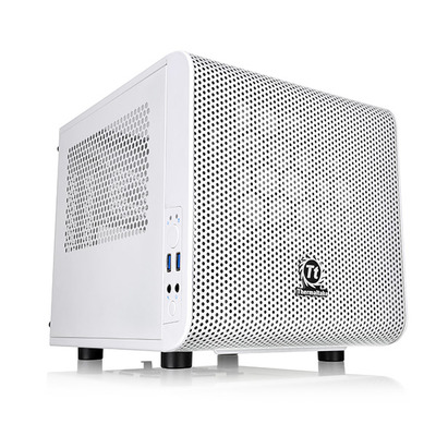 Thermaltake behuizing: Core V1 Snow Edition - Wit
