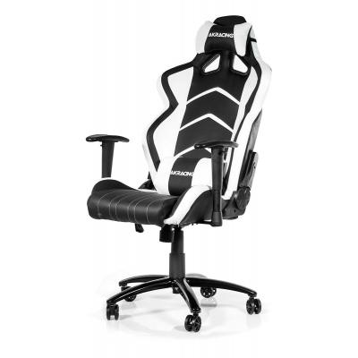 Ak racing game assecoire: AKRACING, Player Gaming Chair (Zwart / Wit)