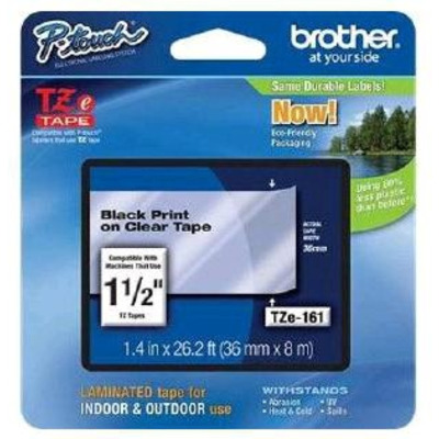 Brother TZE-161 labelprinter tape