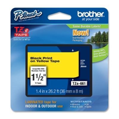 Brother TZE661 labelprinter tape