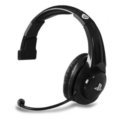 4gamers game assecoire: PRO4-MONO Mono Gaming Headset (Zwart)  PS4