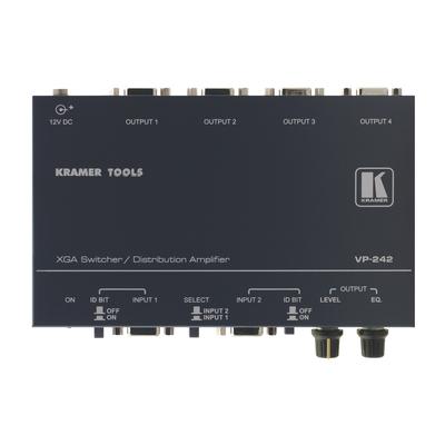 Kramer Electronics Kramer VP-242 Switcher Video switch - Grijs