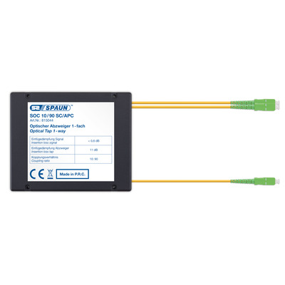 Spaun 815044 Kabel splitter of combiner - Zwart