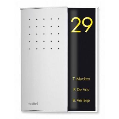 Fasttel deurbel: Wizard Elegance FTZ2903VC - Zwart