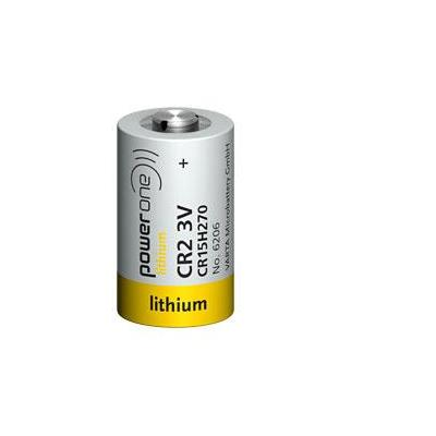 Varta batterij: CR 2 - Wit, Geel