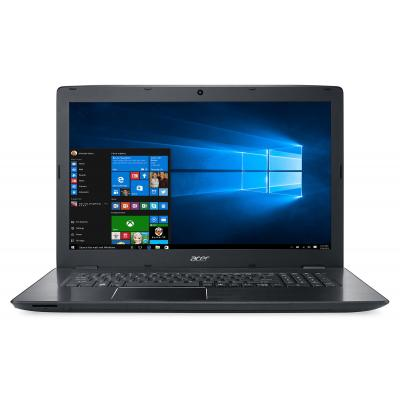 Acer laptop: Aspire E5-774G-566N - Zwart (Renew), QWERTY