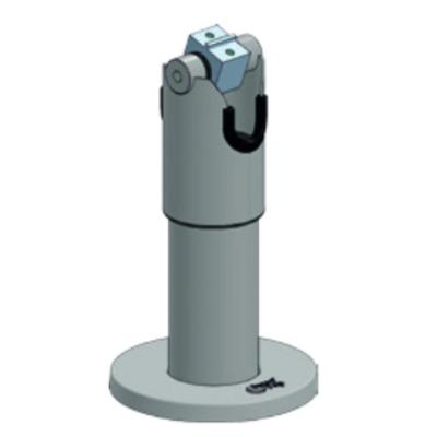 Ergonomic Solutions SpacePole DTP102 Houder - Zwart