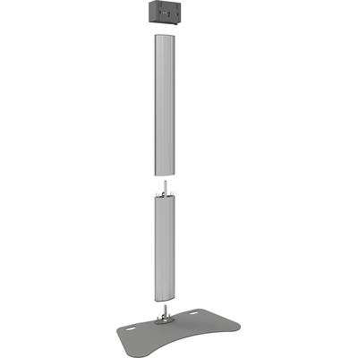 SmartMetals Deelbaar statief 2250mm voor flat panels max 85 kg, 90 inch TV standaard - Aluminium, Grijs
