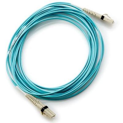 Hewlett Packard Enterprise 5m SFP+ Fiber optic kabel - Turkoois