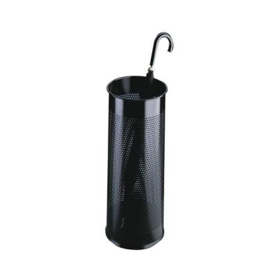 Durable parapluhouder: Umbrella Stand metal round 28.5 - Zwart