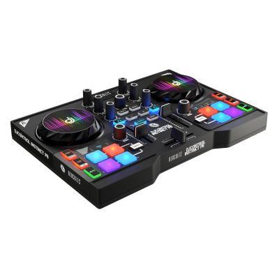 Hercules DJ controller: Instinct P8 - Zwart