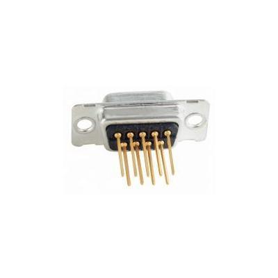 Conec D-SUB, 9-pos, Socket, Quality class 3 Kabel connector - Zwart, Zilver