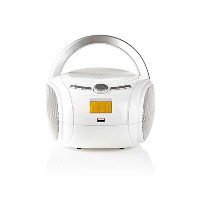 Nedis SPBB100WT CD speler - Wit