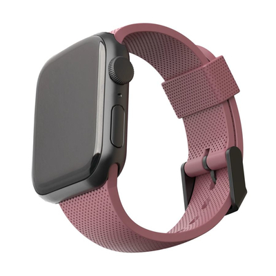 Urban Armor Gear Silicone Strap for Apple Watch 42/44mm dusty rose - Roze