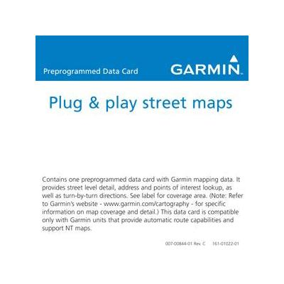Garmin routeplanner: City Navigator China NT - microSD/SD card