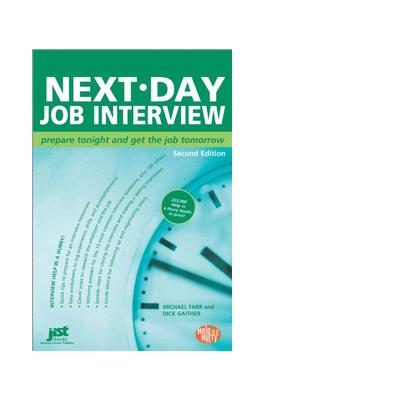 Jist publishing boek: Next-Day Job Interview - eBook (PDF)