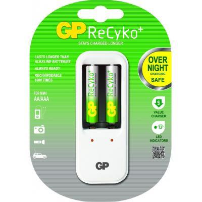 Gp batteries oplader: PowerBank PB410 - Wit