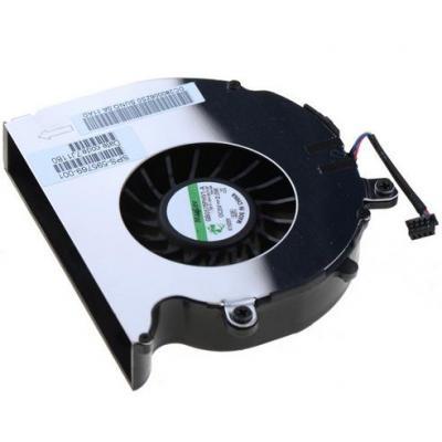 Hp notebook reserve-onderdeel: CPU Cooling Fan - Zwart, Zilver