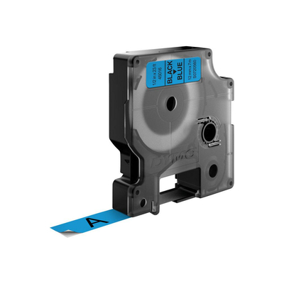 DYMO D1 Standard - Black on Blue - 12mm Labelprinter tape
