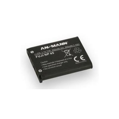 Ansmann 3.7V, 650mAh, 2.4Wh, black - Zwart