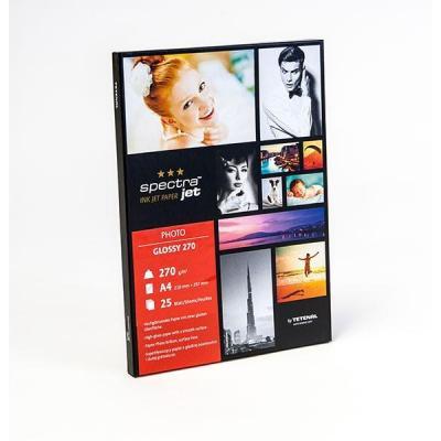 Tetenal fotopapier: SpectraJet Photo Glossy 270gsm A4 25 Sheets