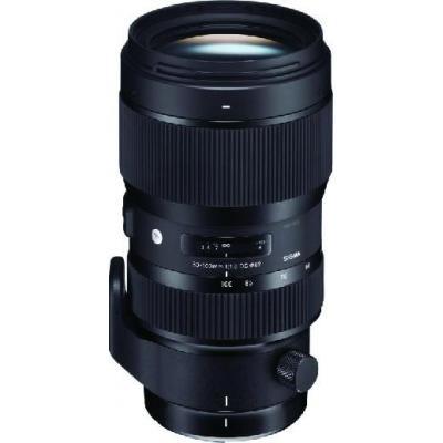 Sigma camera lens: A 50-100 F1.8 DC HSM - Zwart