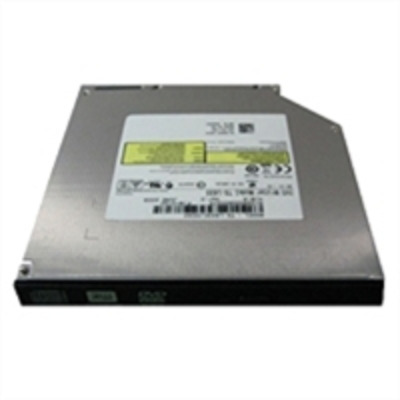 "Dell brander: 13.335 cm (5.25 "") Slim Line DVD+/-RW, SATA, 8X - Zwart, Grijs"