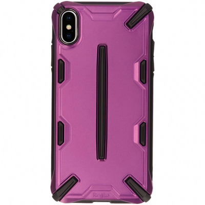 Dual X Backcover iPhone Xs Max - Paars / Purple Mobile phone case