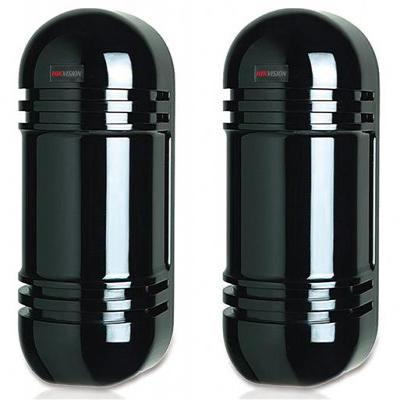 Hikvision Digital Technology DS-PI-D40, Photoelectric Detector, 2 beams, 40 m, IR LED, .....
